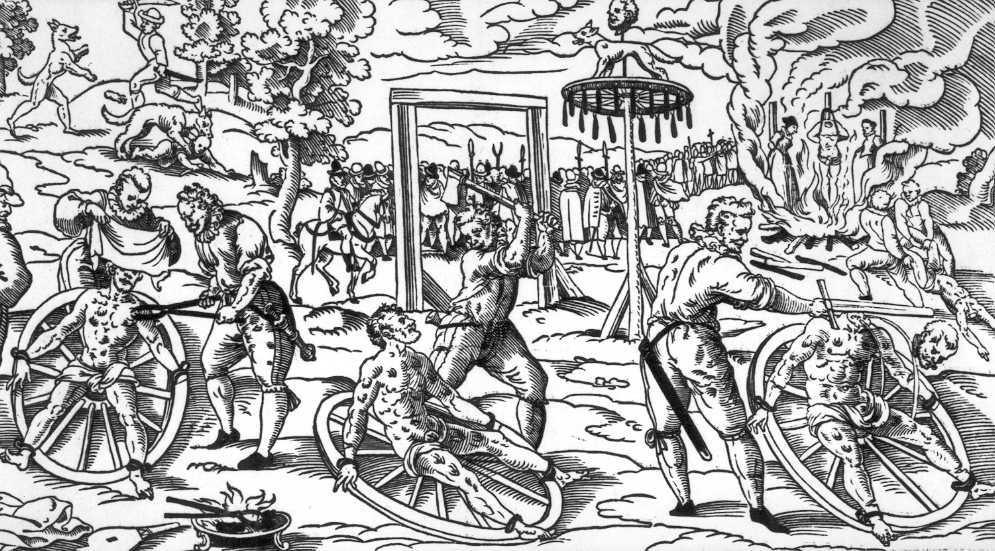 02c7bc571f8 Od špalku k provazu - Popravy - Hrdelní právo